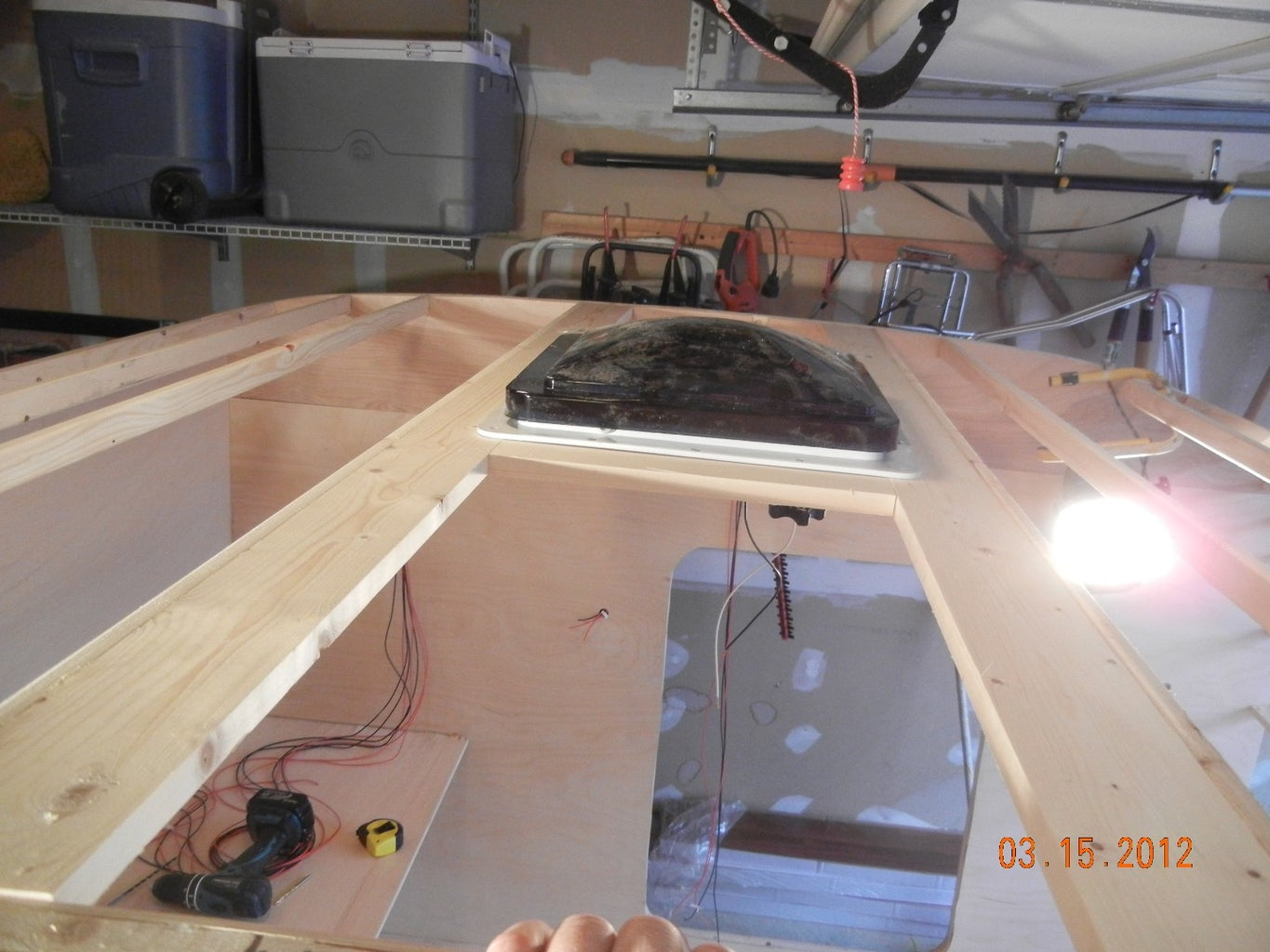 Installing the Roof Vent