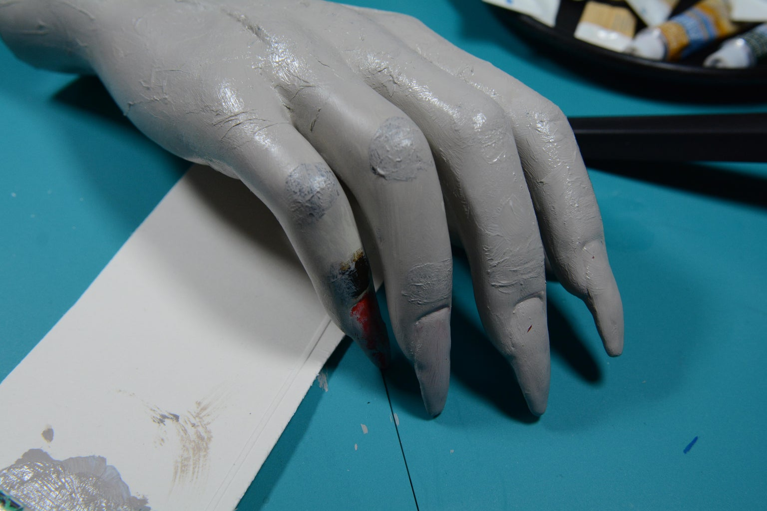 Knuckle Texture and 1st Paint Layer