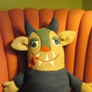 Monster Stuffed Toy