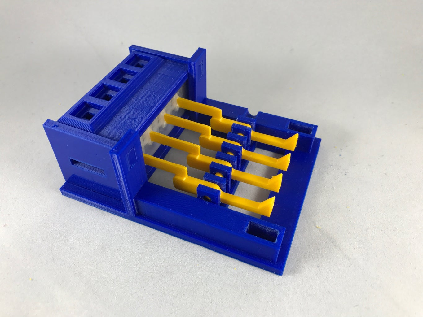 Install the Valve Box Assembly Into the Base Assembly.