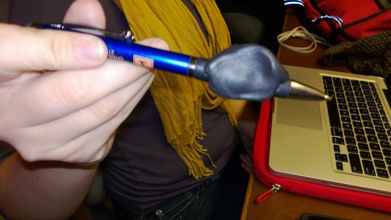 Sugru Pen Grip