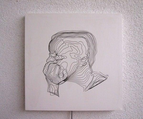 Face 3D Art