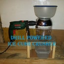 Drill Powered Ice Crusher
