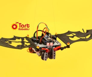 A DIY Flapping-wing Robotic Bat With Arduino, 3D Printed, and Lego-compatible Parts