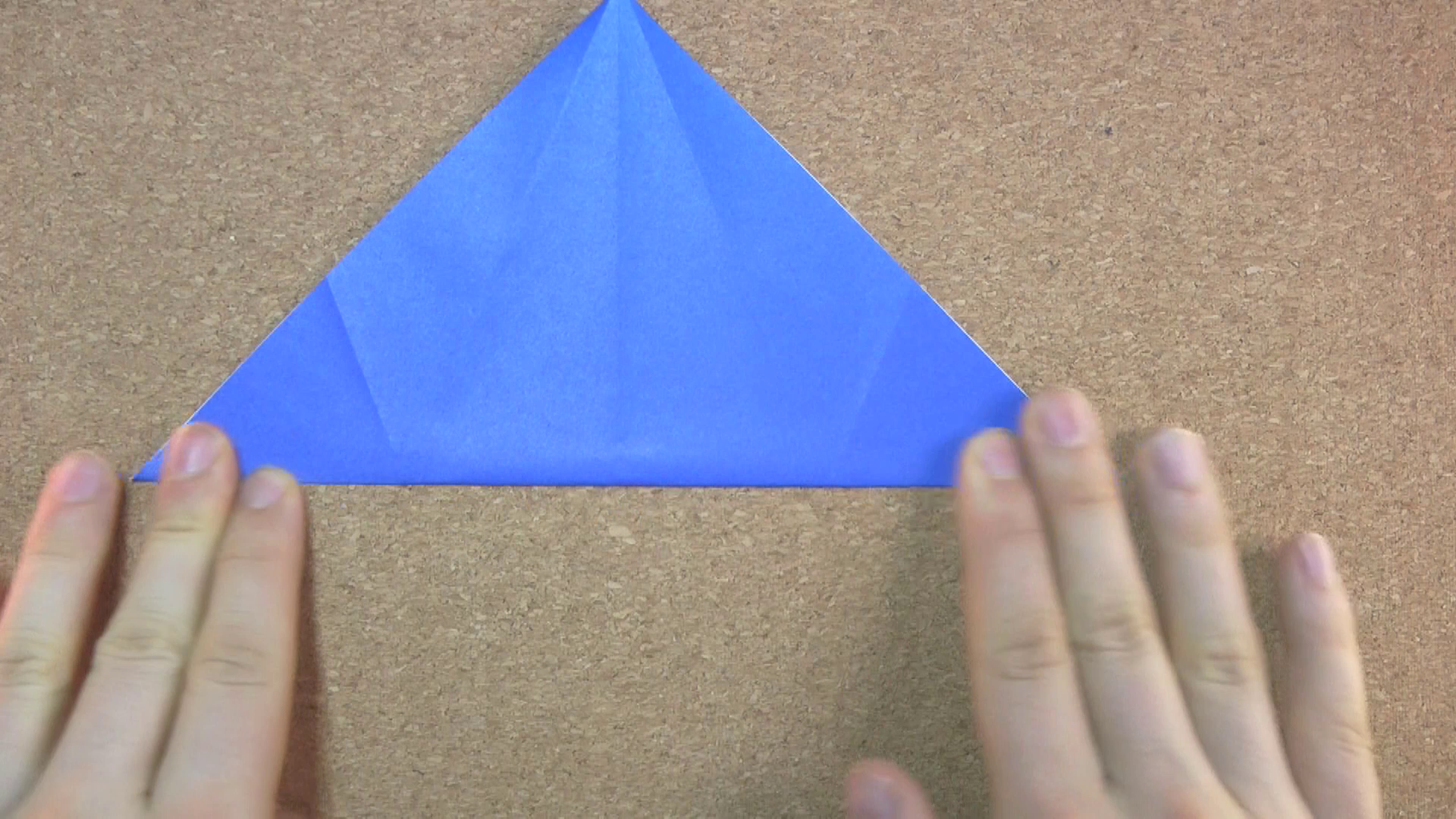 Fold and Unfold the Other Diagonal