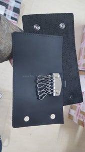 Install Key Hook With Key Hook Pad on Lining Use Rivets.
