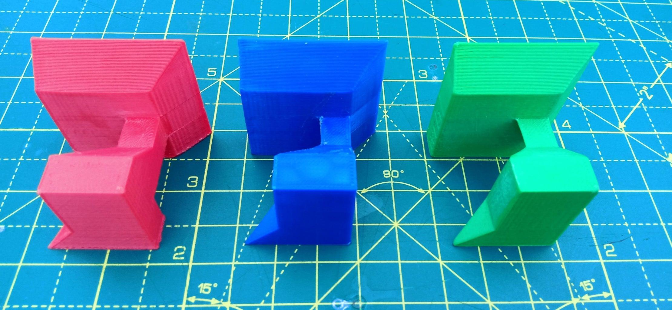 The 3 Piece Cube Puzzle
