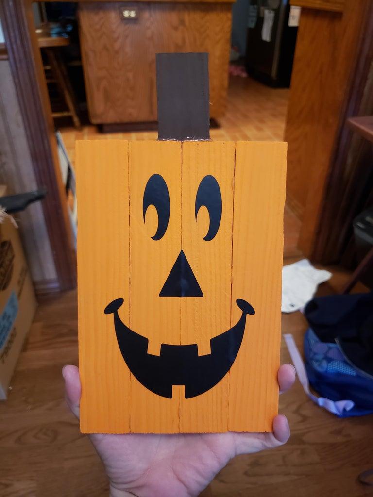 Wood Shim Pumpkin
