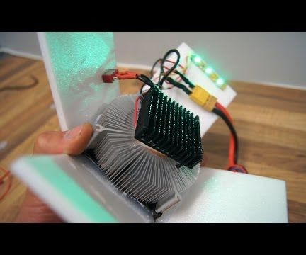How to Make a Dehumidifier (Thermoelectric Cooling)
