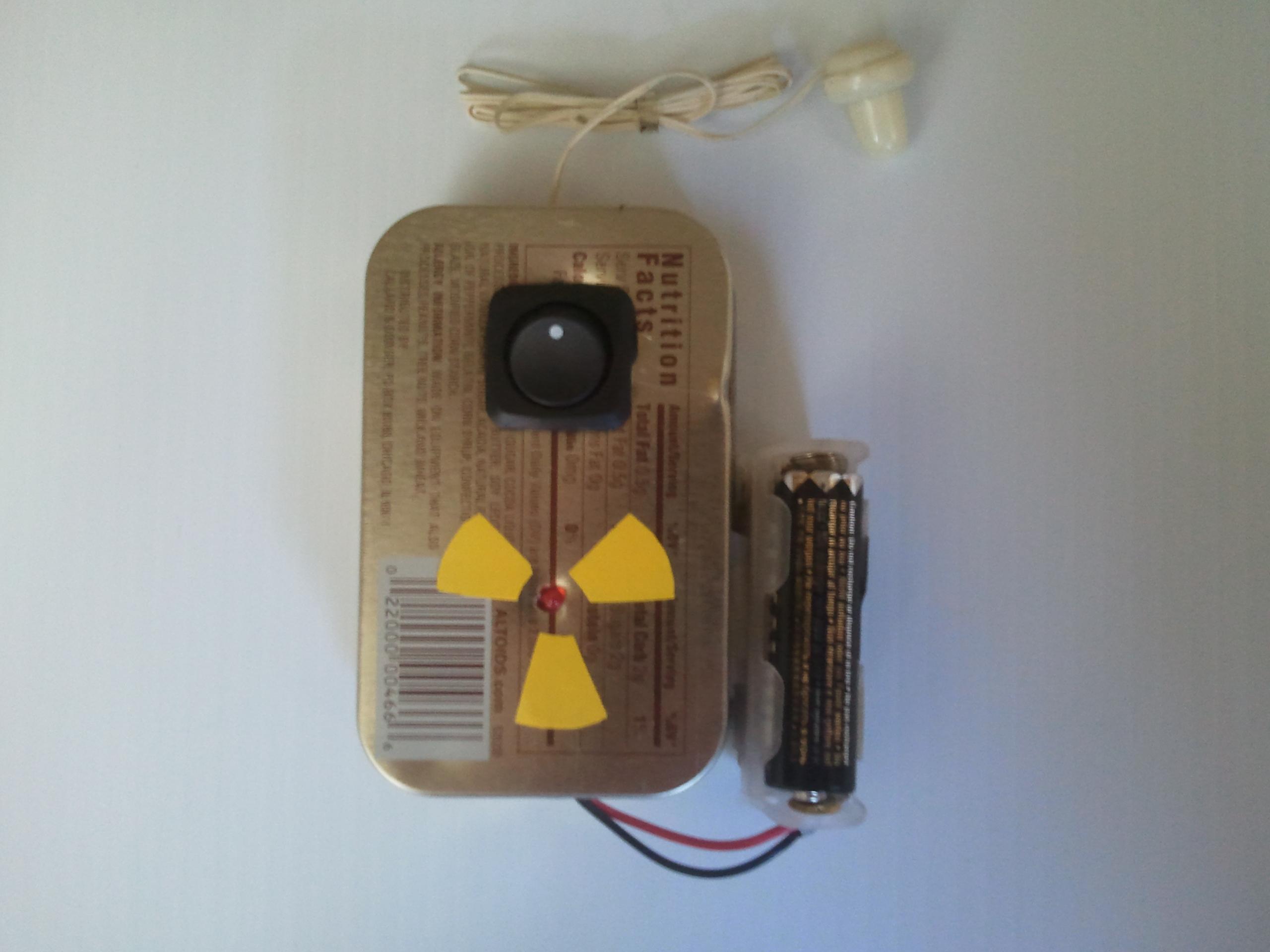 Build a Pocket Ionizing Radiation Detector (PIRD)