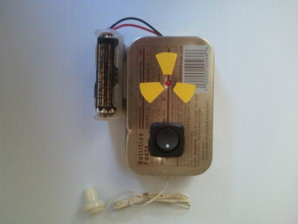 Build a Pocket Ionizing Radiation Detector (PIRD)