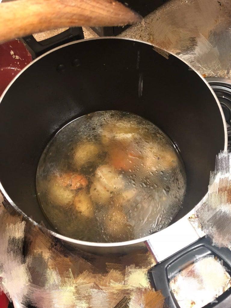 Cooking Procedure - ADD WATER (Soup)