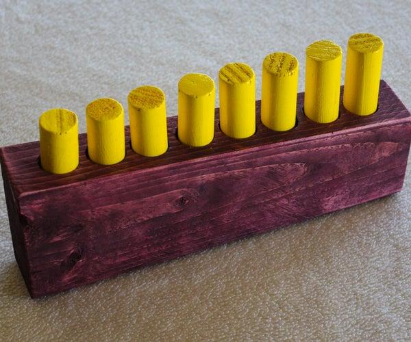 Wood Pin Puzzle