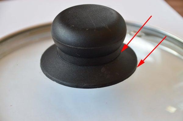 Repair a Broken Cooking Pot Cap With Sugru