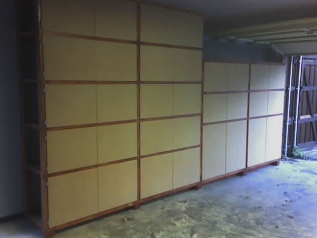 Garage Shelf Instructions