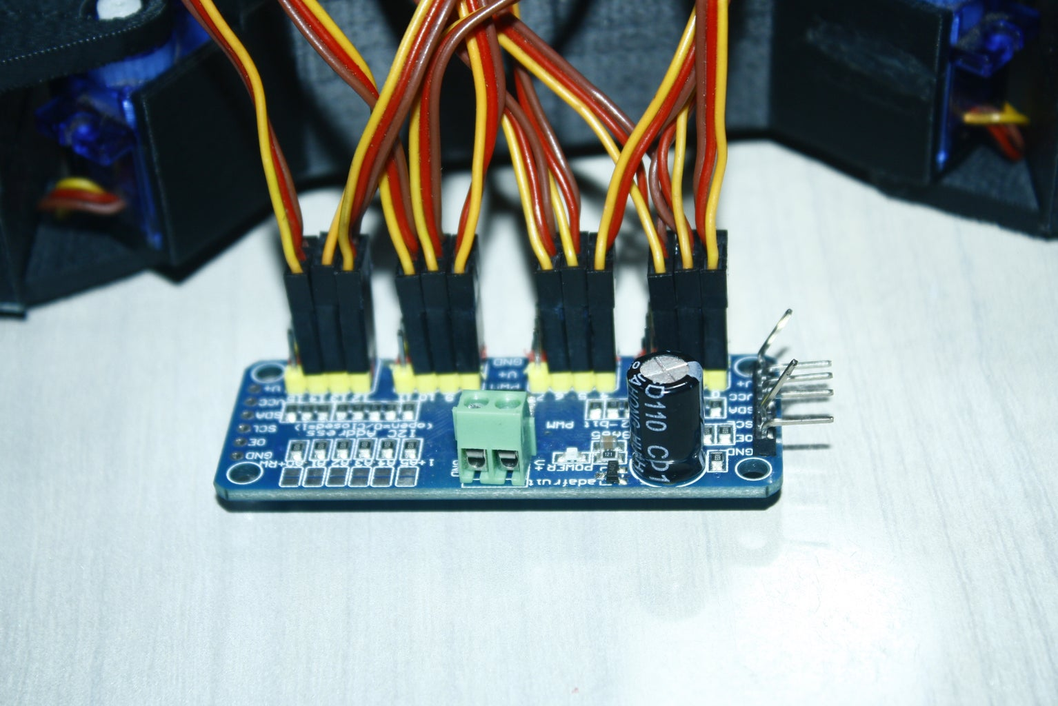 PWM to Servo Pin Connection