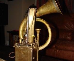 Steampunk Ipod/Lamp Box