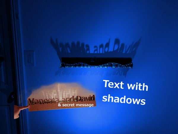 Text Shadows (with Secret Message)