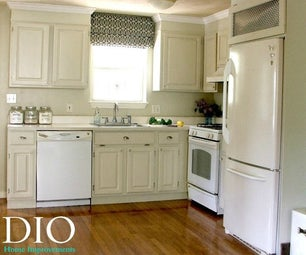 Kitchen Cabinet Makeover for Less Than $250
