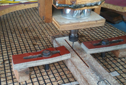 Machining the Base for the Edge Lit Lamp
