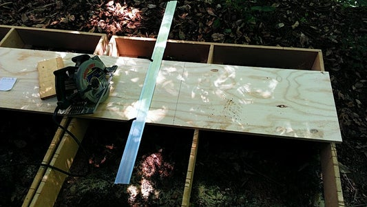 How to Break Down a Full Sheet of Plywood