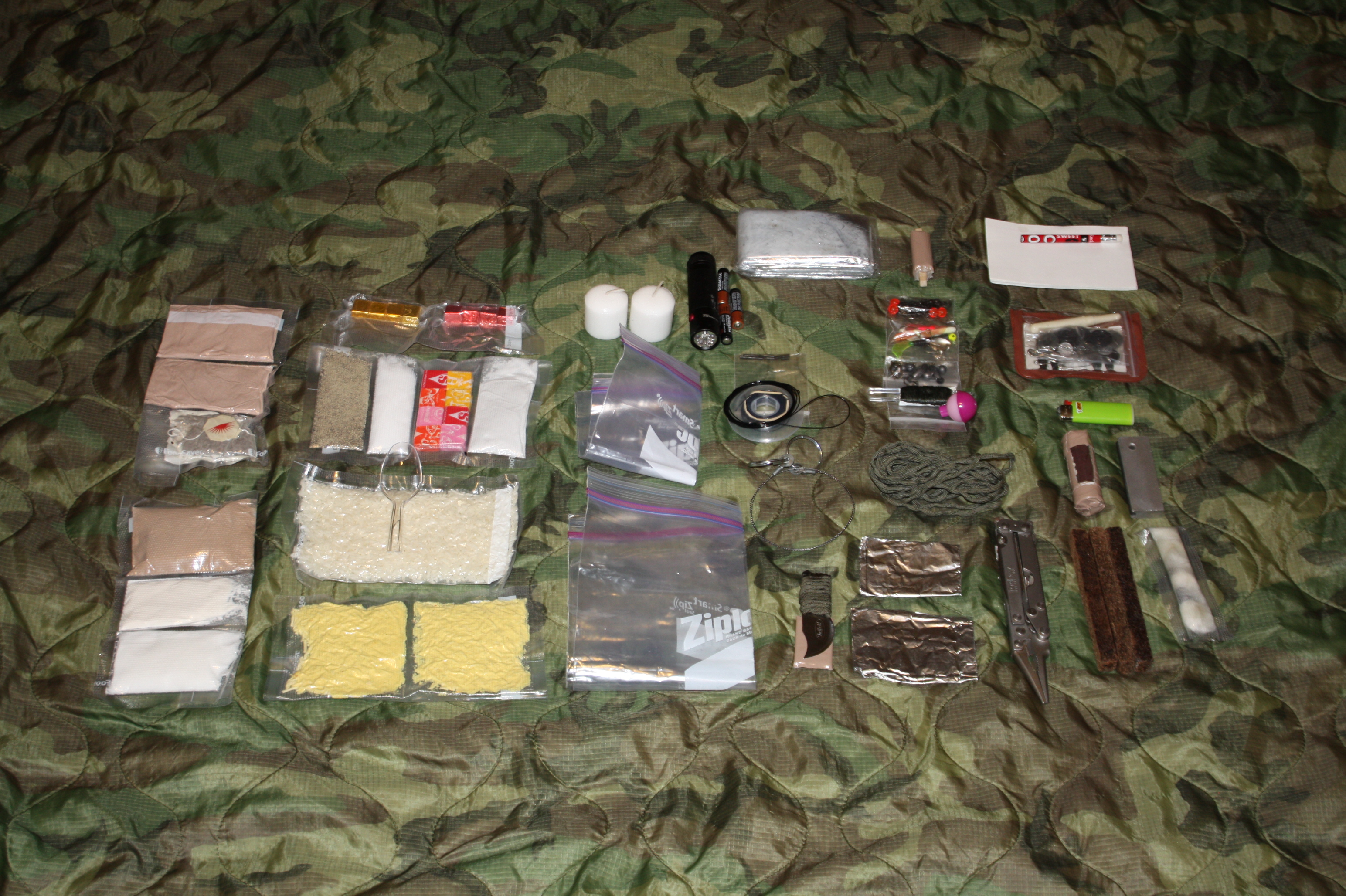 One SF Soliders' Survival Kit
