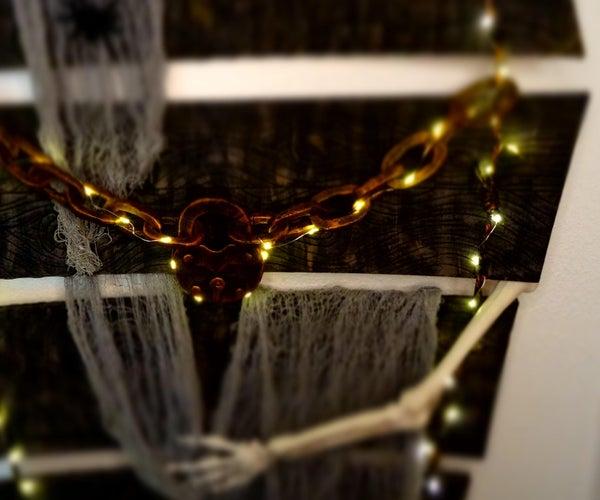 DIY Halloween Coffin Wall Hanger - Decoration