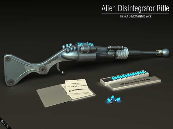 Make Your Own Alien Disintegrator From Fallout 3