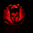 Maleficent Halloween Pumpkin