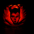Maleficent Halloween Pumpkin