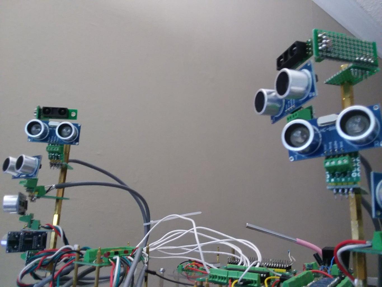 Mount IR Sensors