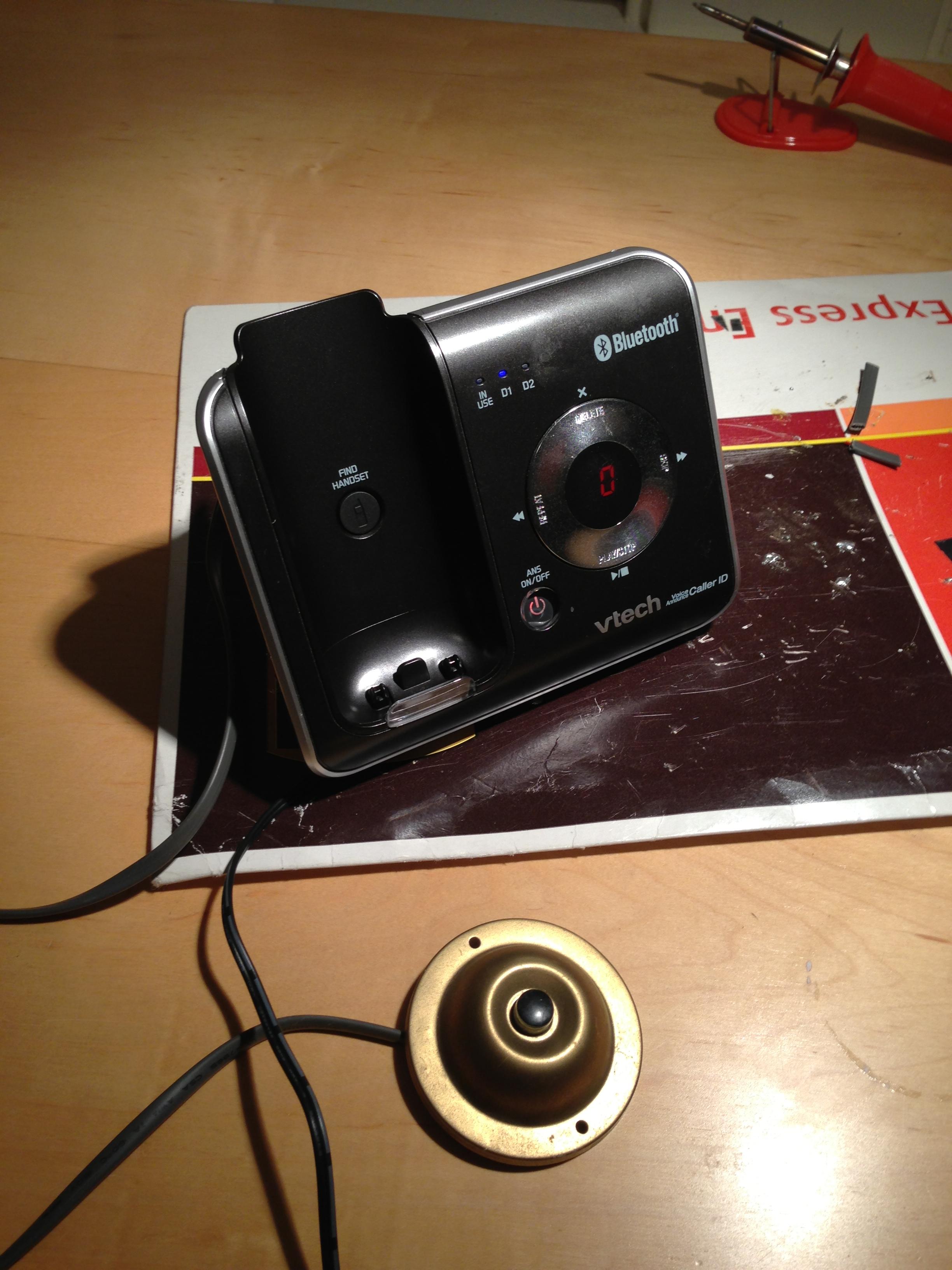 DIY Doorbell to House Phones
