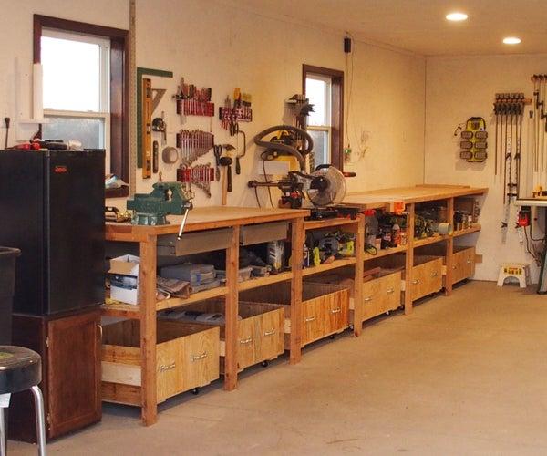 Wood Shop Scrap Bins