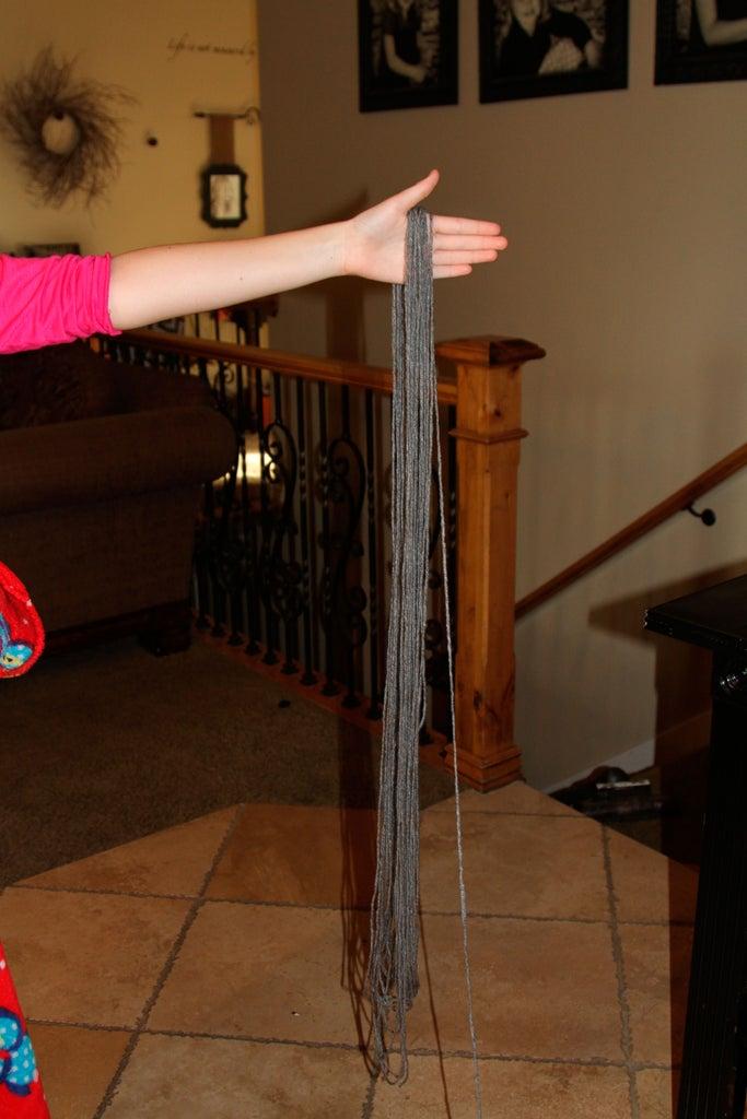 Step 1: Unwind the Yarn