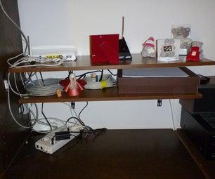 Cable Organizer Box & Shelf