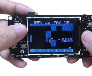 ESPlay Micro - Retro Game Console + MicroPython