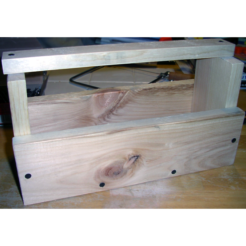 Cub scout project: Wood Tool Box