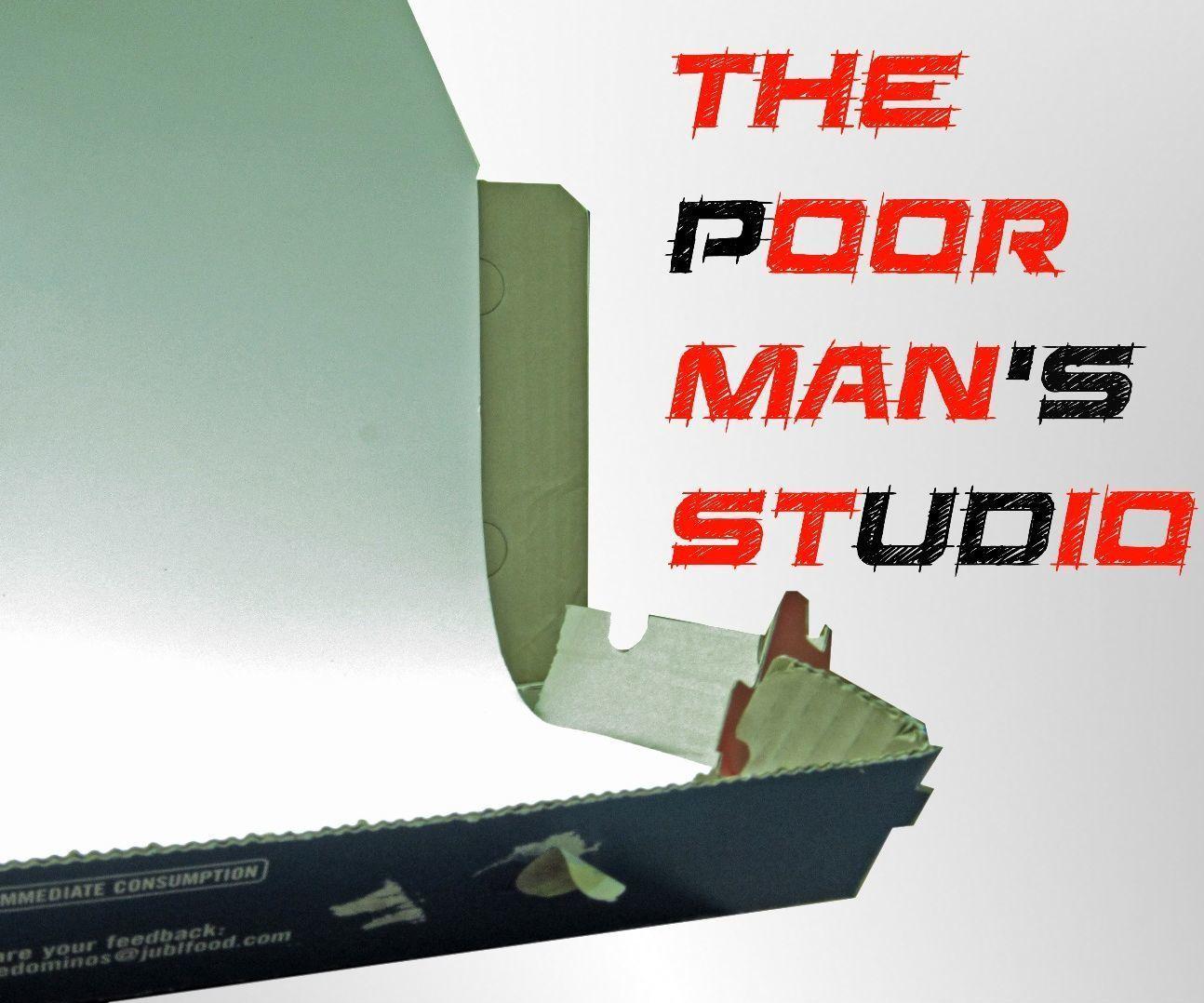 Pizzabox Cyclorama - The Poor man's Studio