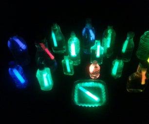Glow Sticks Water Lanterns