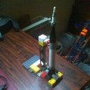 Lego Mercury Redstone rocket ds stylus