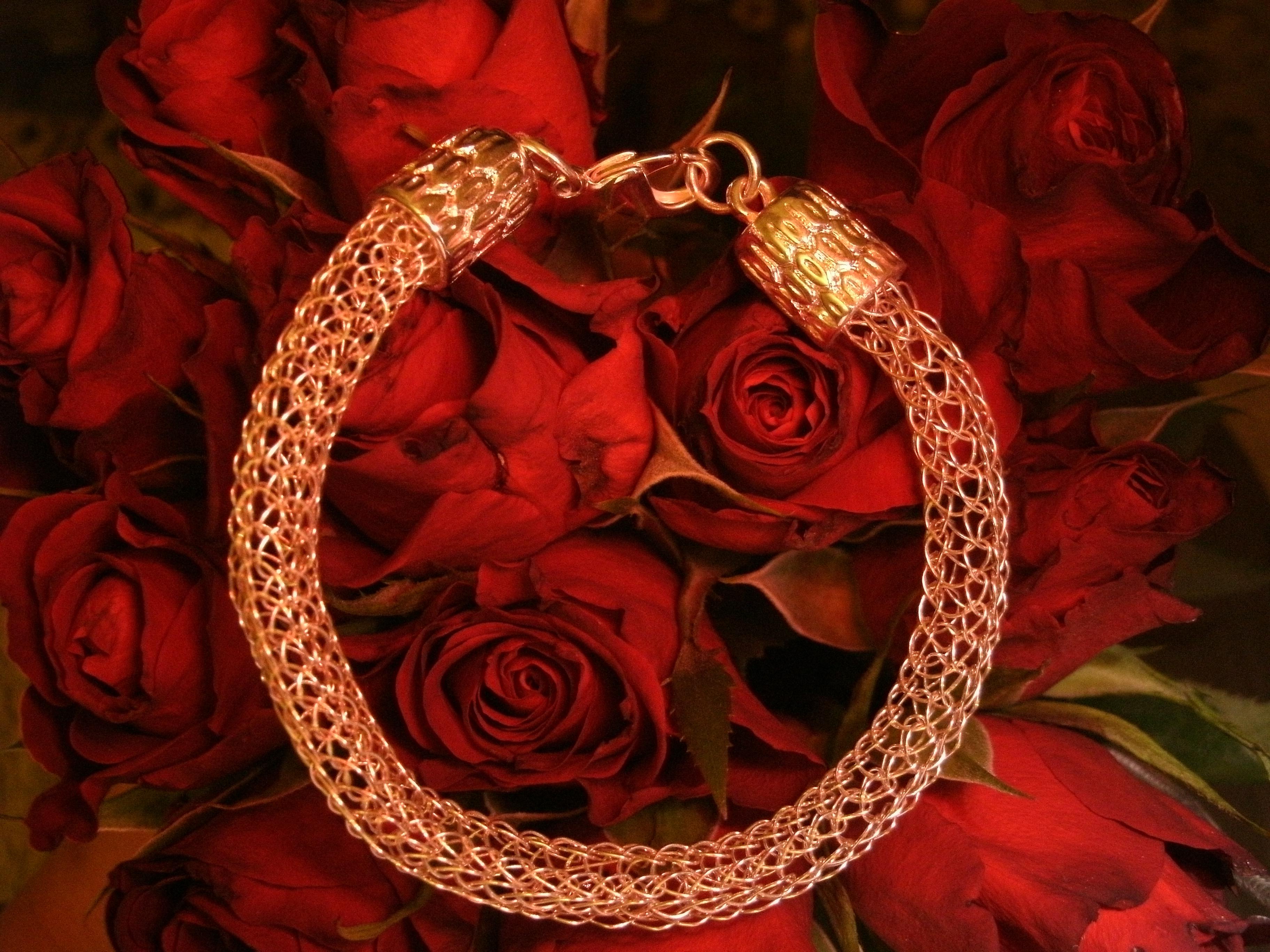 Viking weave necklace and bracelet