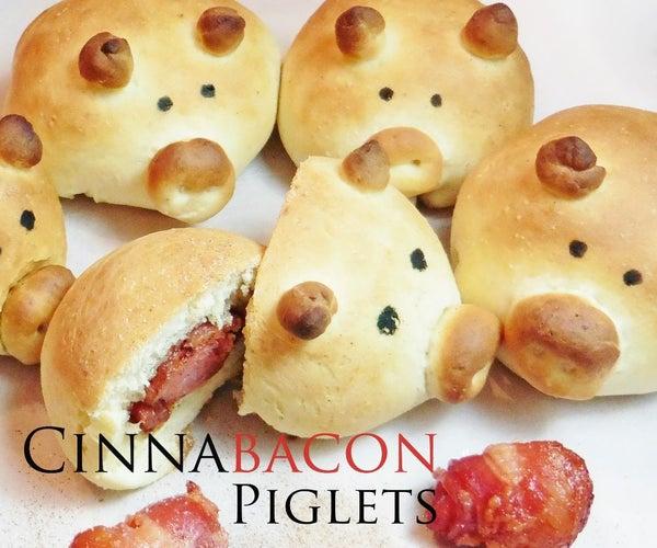 Cinnabacon Piglets