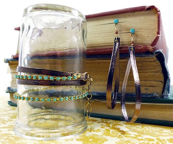 Palm Beach Bracelet & Earring