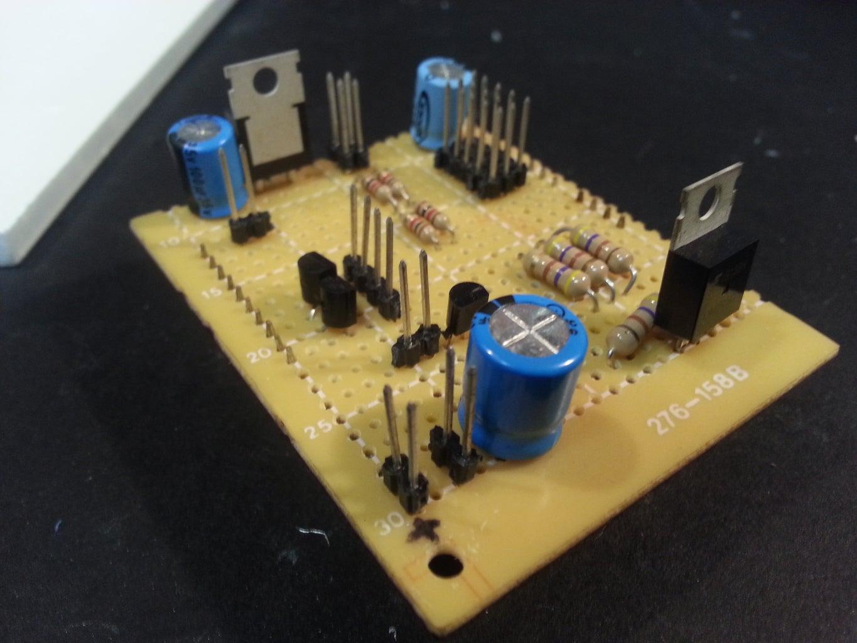 Building the Flashlight Circuit