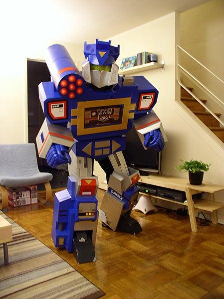 Transformers Soundwave Costume