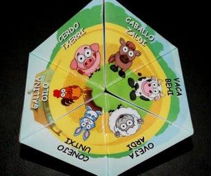 Animal Learning Toy (Kaleidocycle)