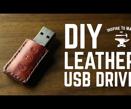 DIY Leather USB Drive