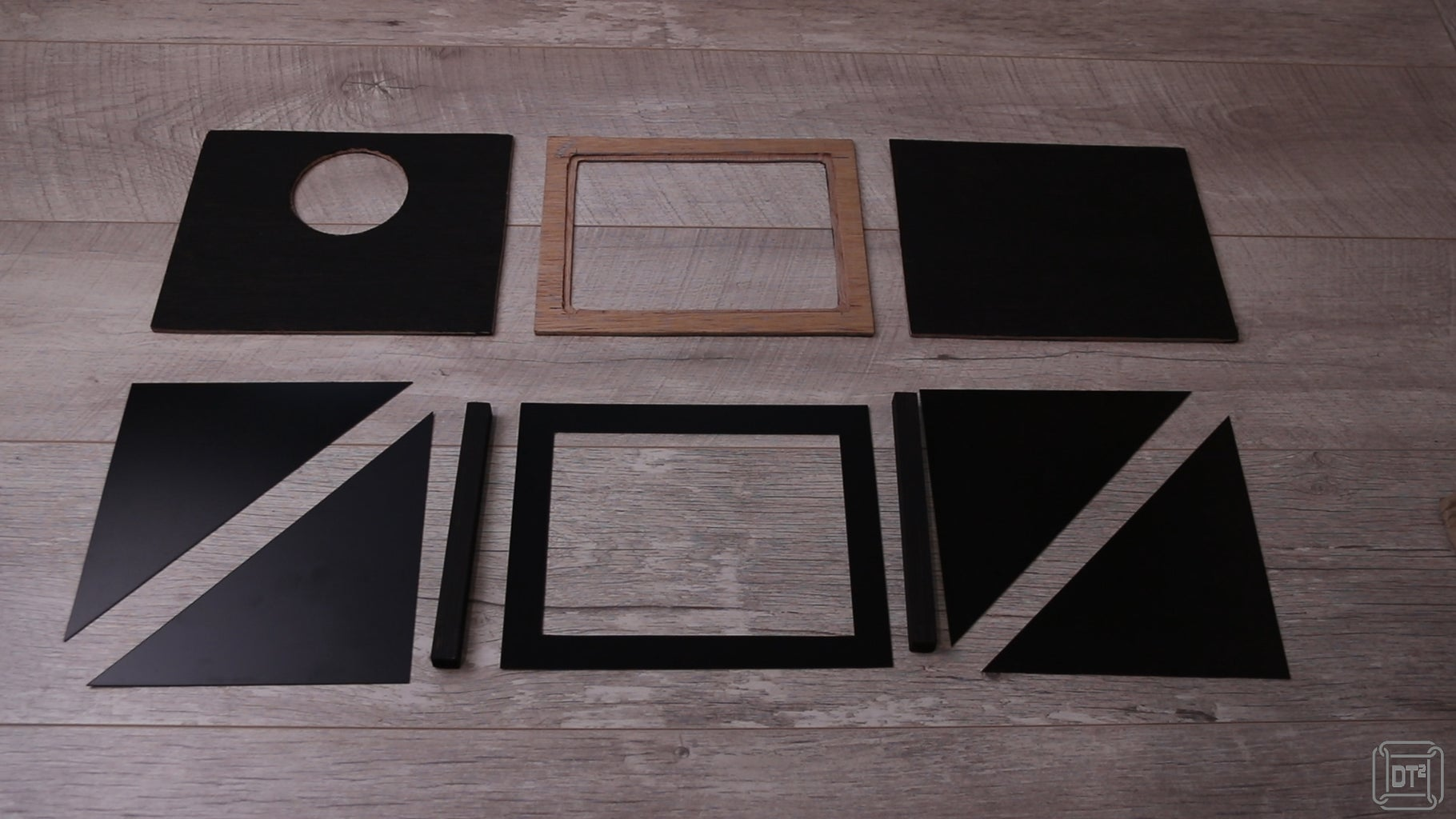 Cut and Paint Materials - Plastic Panels and Bars
