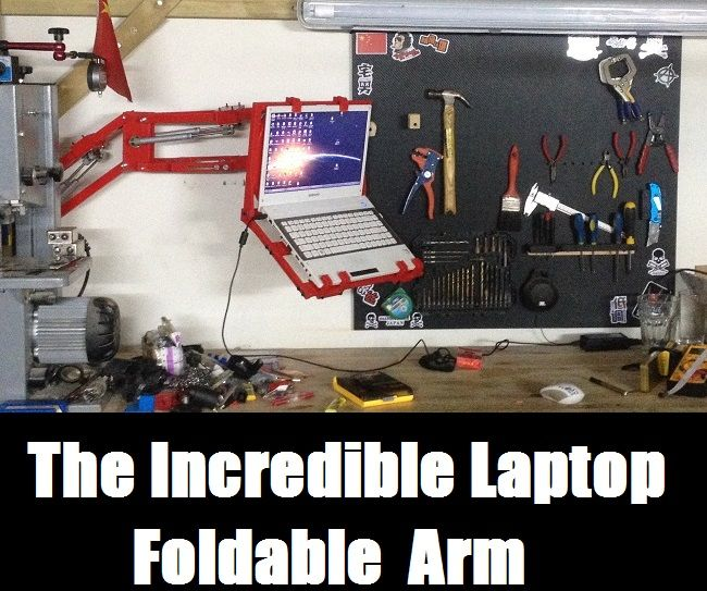 The Great 3D Printed Laptop Arm