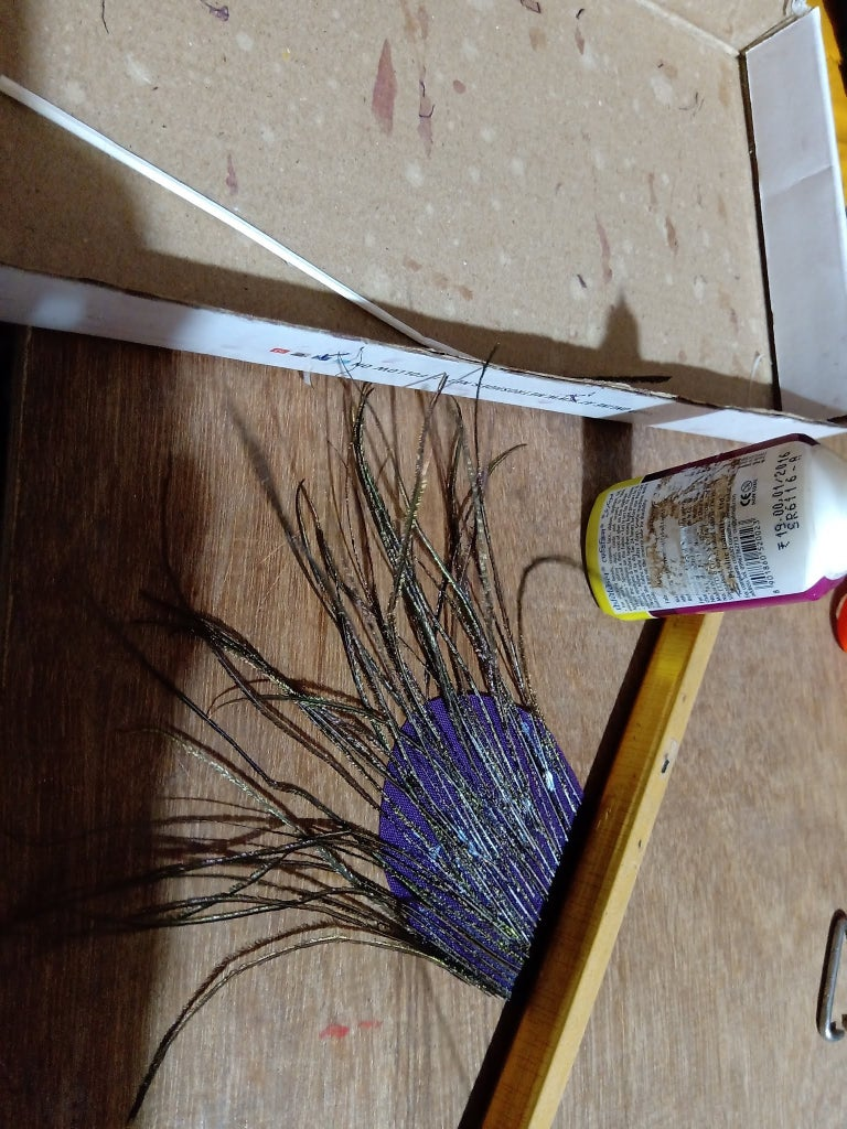 Add Real Feather Pieces to the Outer Layer!